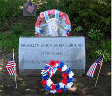 Brooklyn Union Burial Ground Monument