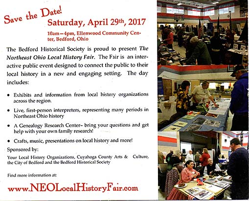 NEO Local History Fair