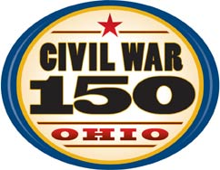 Ohio Historical Society Ohio Civil War 150 logo